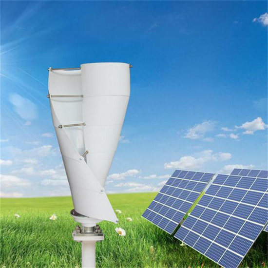 Vertical Axis Maglev Wind Power Generator System