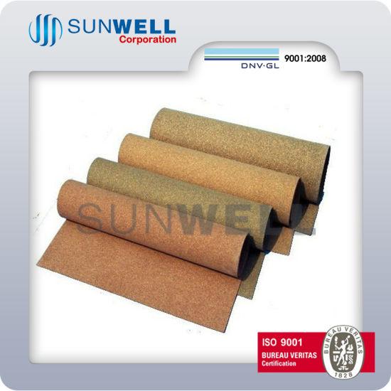 China Rubber Cork Roll Soft Sheet