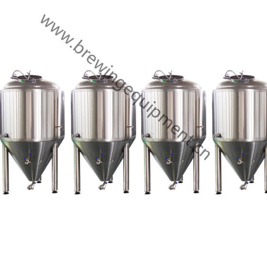 500L Beer Brewery Equipment Cooling Jacketed Conical Fermenter pictures & photos