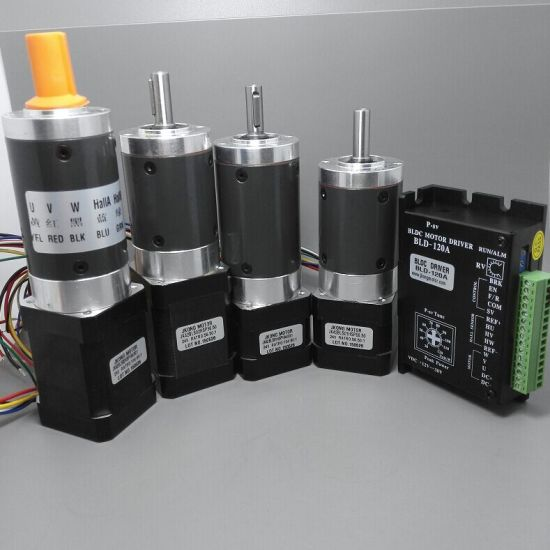 24V 42mm DC Brushless Motor with Planetary Gearbox Ratio 56.5 and 104.80 pictures & photos