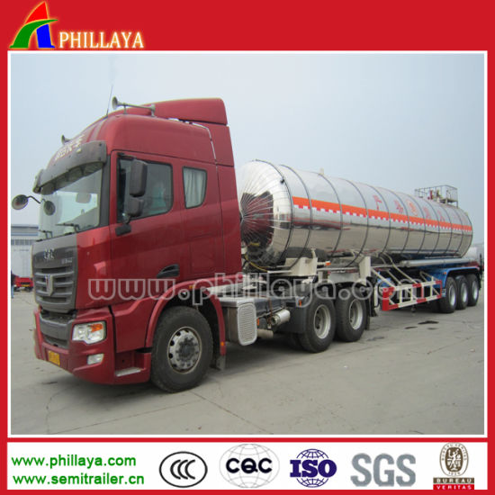 Crude Oil Fuel Storage Aluminum Tanker Trailer 50000liters pictures & photos