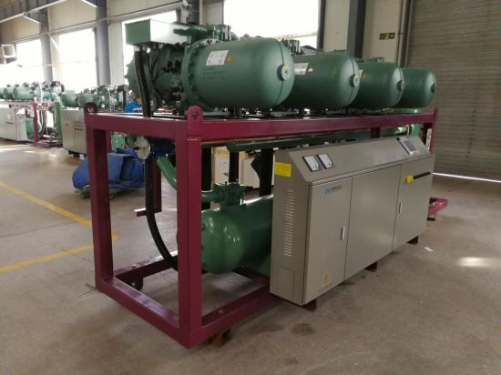 High-Efficiency Parallel Screw Compressor Unit for Vegetables Storage Room