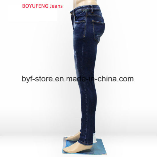 7f3713694 New Fashion Designs High Waist Skinny New Style Boys Pants Jeans for Men  (201801)