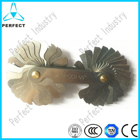 High Quality 55 Degreee Thread Angle Screw Pitch Gauge