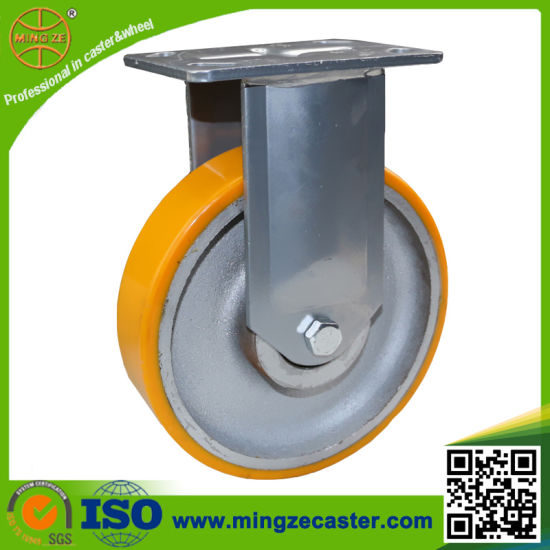 China Hand Truck 6inch Heavy Duty Urthane Wheel Caster - China Heavy