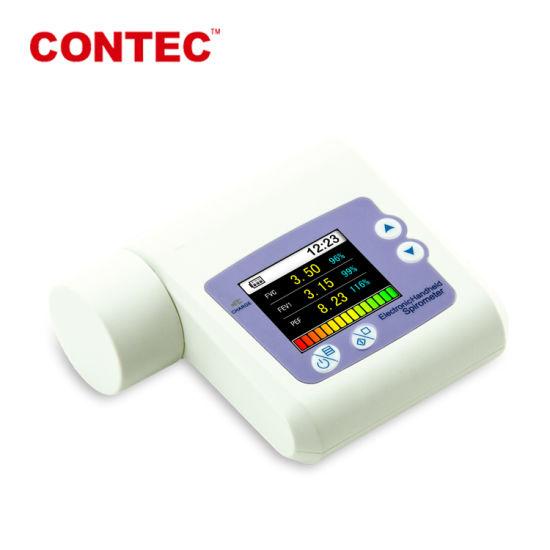 Ce Certified-Handheld Bluetooth/Wireless Digital Lung Spirometer Telemedicine