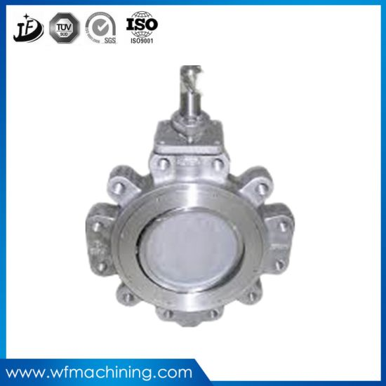 Customized Sand Cast Iron Casting Pump Parts with Ductile Ion pictures & photos