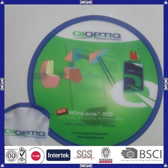 New Design Customized Logo&Price High Quality Nylon Frisbee pictures & photos