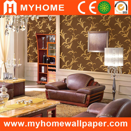 China Wall Paper Black Design Classic Designer Wallpaper China