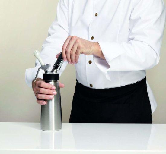 304 Stainless Steel Whipped Cream Dispenser