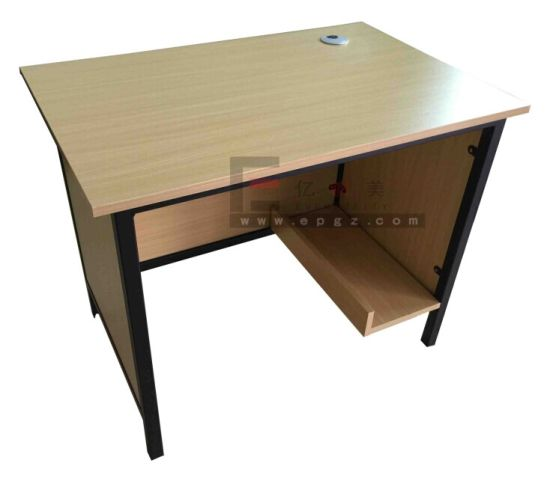 Concise School Furniture Teather Office MDF Board Table and Chair