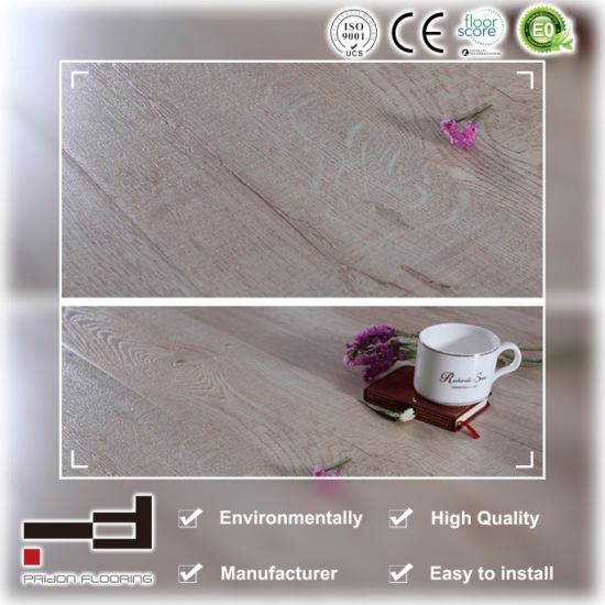 Pridon Herringbone Series Rz006 More Texture Laminate Flooring pictures & photos