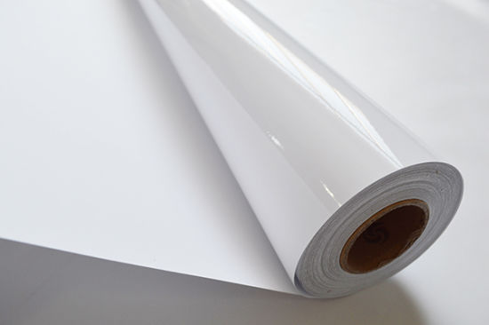 Glossy Self Adhesive Photo Paper for Inkjet Printing in Rolls