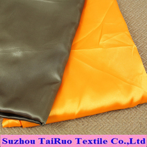 Microfiber Polyester Satin for Women's Clothes