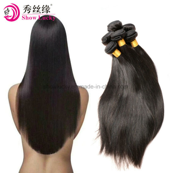 Professional Supplier Good Quality 9A Raw Indian Straight Virgin Human Hair Weaving