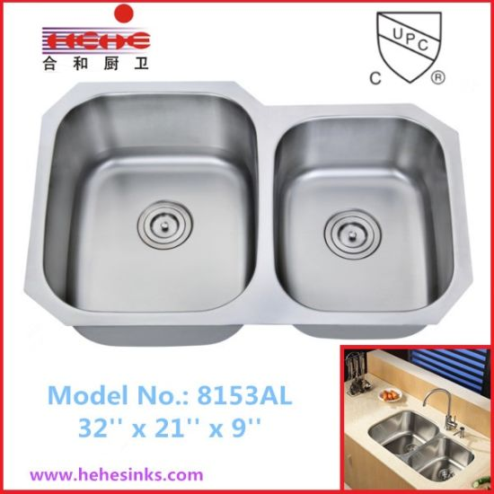 China 6040 Double Bowl Stainless Steel Kitchen Sink China Kitchen