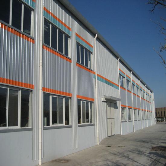 Heat Insulation Prefabricated Steel Structure Building