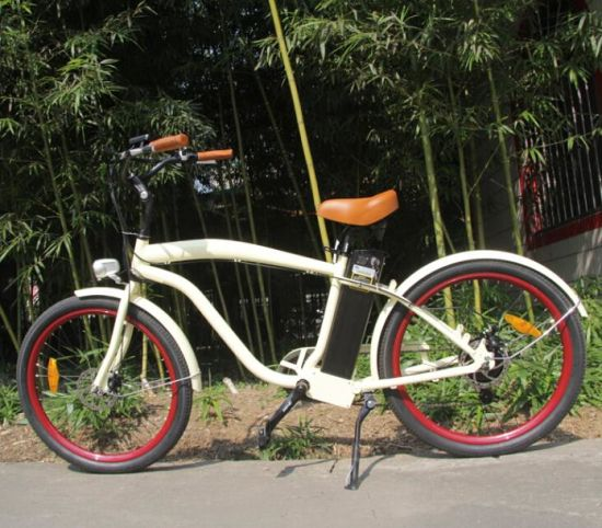 China 26′ Aluminum Alloy Frame Beach Cruiser Electric Bike - China ...