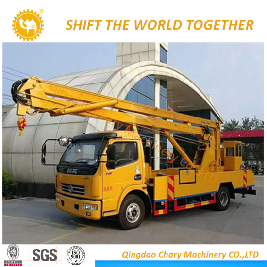 Futon 14-25 M Aerial Work Platform Truck for Sale, Overhead Operation Car
