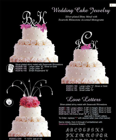 China Wedding Hanging Cake Topper Sparkle Cake Jewelry Drops Topper