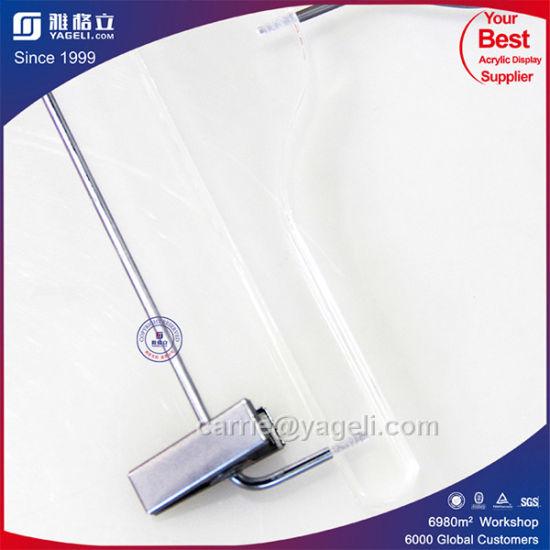Yageli Wholesale New Design Acrylic Clothes Hanger