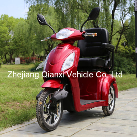 Four Wheel Electric Elderly and Invalid Mobility Transportation Device (ST095) pictures & photos