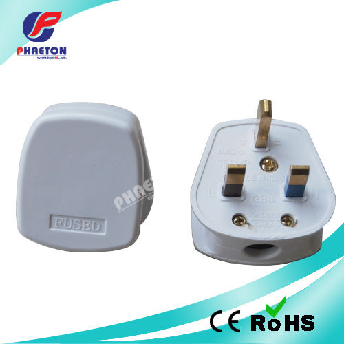 UK Power Plug for Power Cable