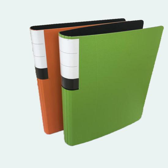 china custom design printing cardboard 2 ring binder file folder