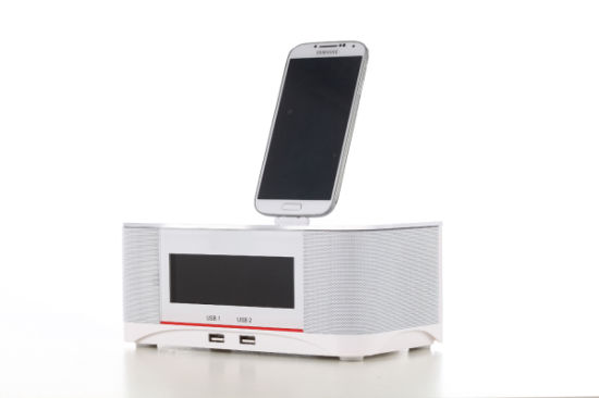 Hotel Large LCD Display Table Alarm Clock pictures & photos
