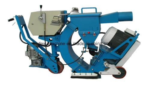 550mm Width Portable Concrete Pavement Shot Blasting Machine