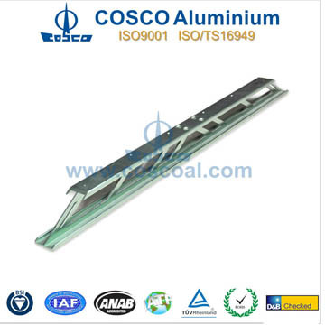 Aluminium/Aluminum Profile with CNC Machining (ISO9001: 2008 TS16949: 2008) pictures & photos