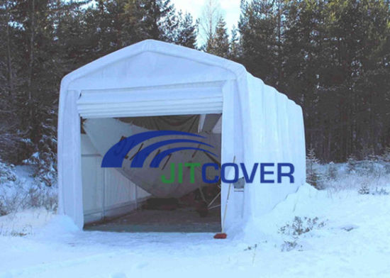13′ Wide Mechanical Door Boat Shelter/ Boat Cover, RV Tent (JIT-1333HM)
