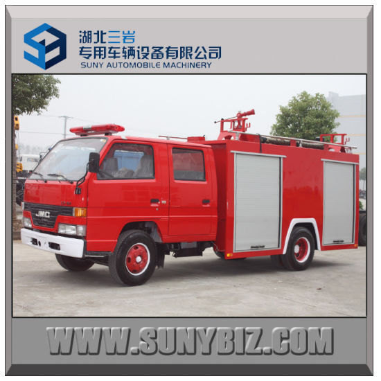 Jmc 4X2 5t Water and Foam Fire Truck pictures & photos