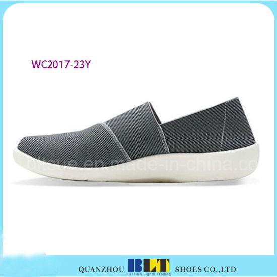 Women Casual Elastic Upper Leisure Shoes pictures & photos