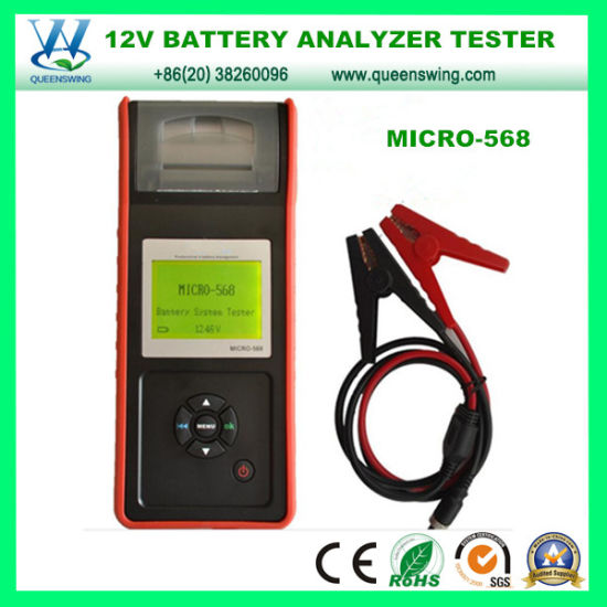 Storage Battery Tester Micro-568 Battery Load Tester/12V Battery Analyzer pictures & photos