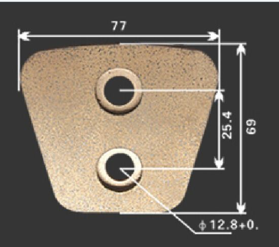 Ceramic Clutch Button for Clutch Disc pictures & photos