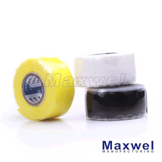 Self Fusing Silicone Tape Waterproof Rubber Tape pictures & photos
