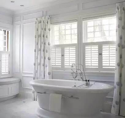 Sun Adjustable Louver Shutter Bathroom Window Plantation Shutters From China