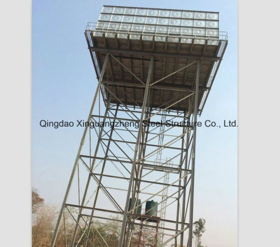 Steel Tower for Water Tank