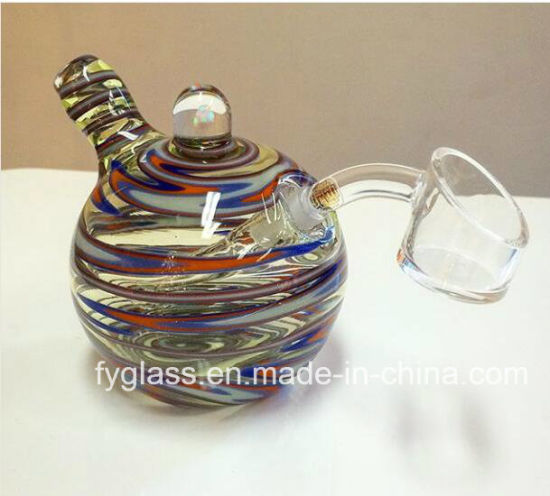 6inch Colorful Glass Oil Burners Glass Tobacco Hand Pipes