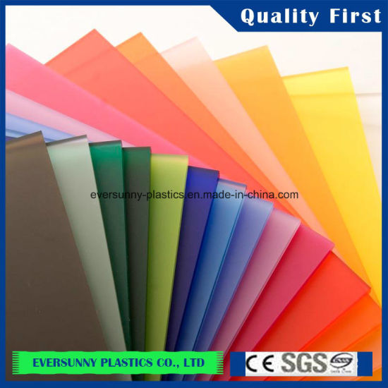 Frosted Colorful Cast Acrylic Sheet Plexigl Pictures Photos
