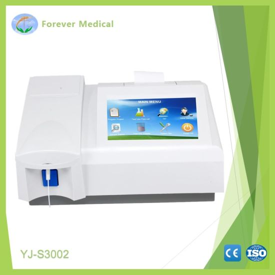 Hospital Equipment Semi-Automatic Chemistry Analyzer (YJ-S3002)