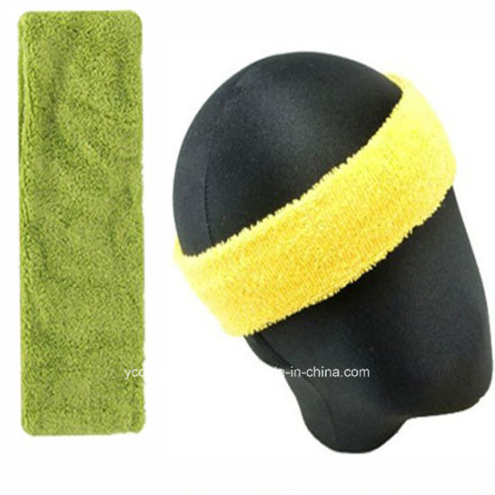 Custom Sport Men′s Elastic Headband pictures & photos