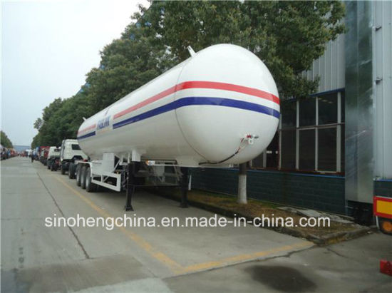 49.6m3 LPG Tank Semi Trailer Fuel Tank Semi Trailer