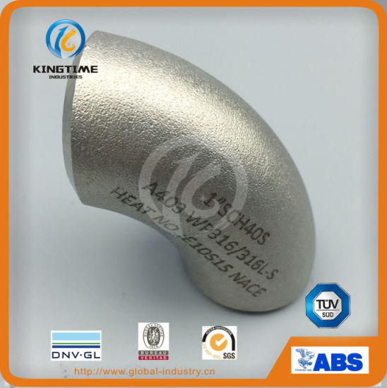 ASME B16.9 Stainless Steel Pipe Fitting 45D Elbow (KT0218) pictures & photos