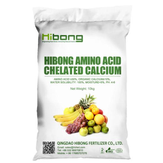 Plant Source Amino Acid Chelated Calcium Ca Fertilizer
