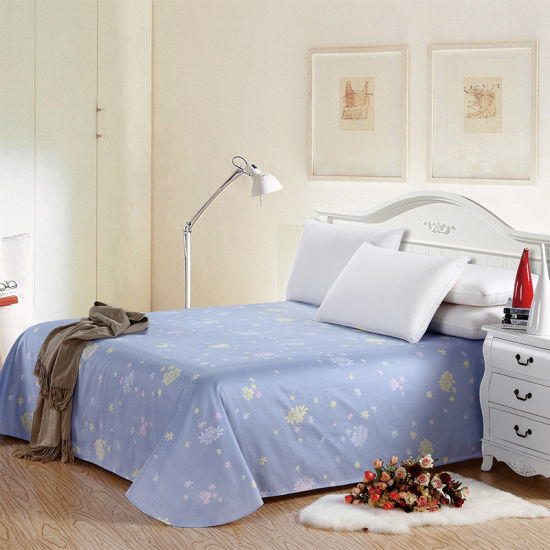 China Cheap Price Complete Bedding Home Textile Bed Sheet