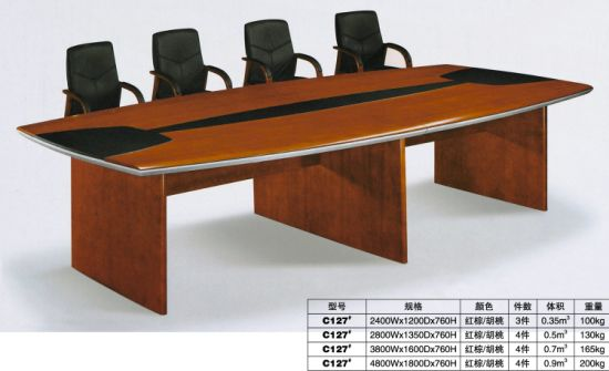 China Office Furniture Wooden Person Conference Table FEC H - 4 person conference table