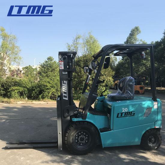 Ltmg 1.5t 2t 2.5t 3t 5t 2 Ton 3 Ton 4 Ton 5 Tonne Mini Electric Forklift for Sale