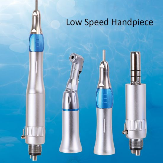 Dental Low Speed Air Turbine Handpiece for Oral Care Equipment
